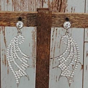 Jewelry - Sterling & Topaz Earrings
